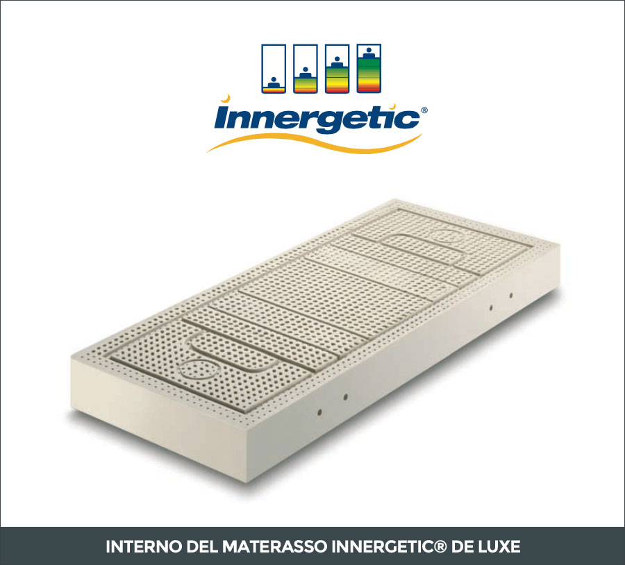 Interno del materasso in lattice Innergetic De Luxe
