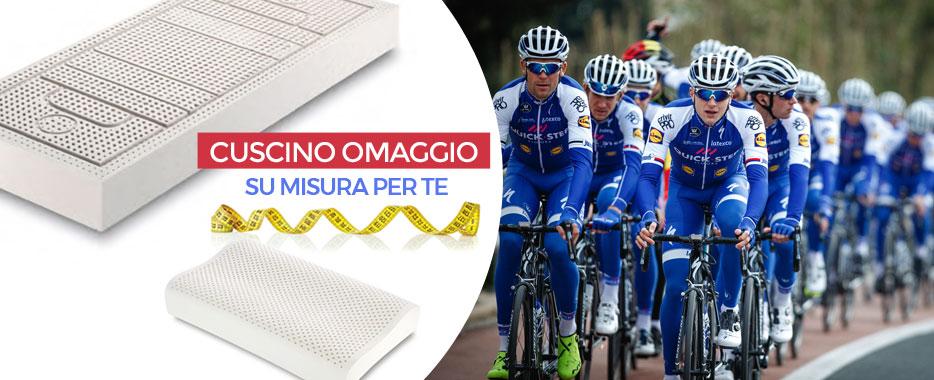 Promozione Giro d'Italia 2017 con cuscino in omaggio