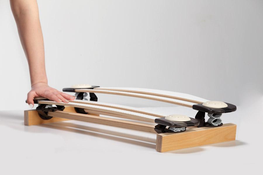 Rete per materasso Synchroflex fissa - dettaglio piano letto