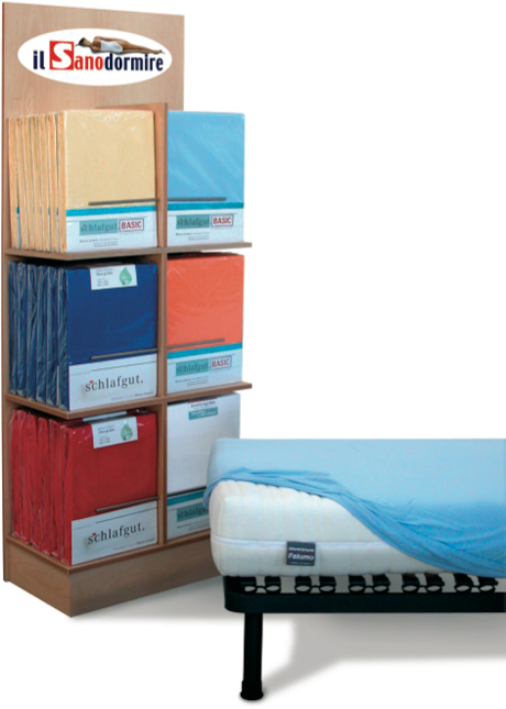 ALOE VERA: lenzuola coprimaterasso elasticizzati con angoli