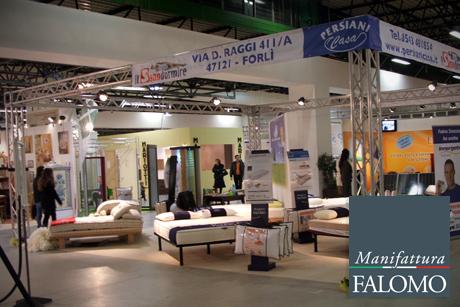 Materassi Falomo a Forlì: Vivi la casa salone dell'arredamento 2012