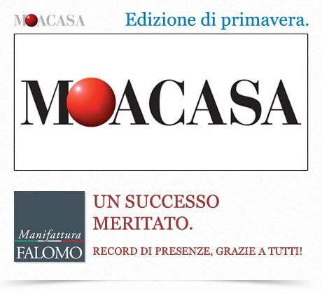 """Fiera di Roma """"MOACASA Primavera 2012"""": visite da record!"""