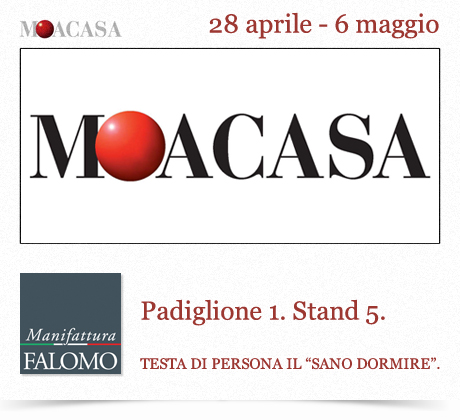 "Materassi a Roma: fiera ""MOACASA"" 2012"