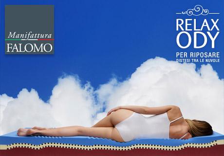 Relaxody: l'innovativo materasso in Memory Foam personalizzabile