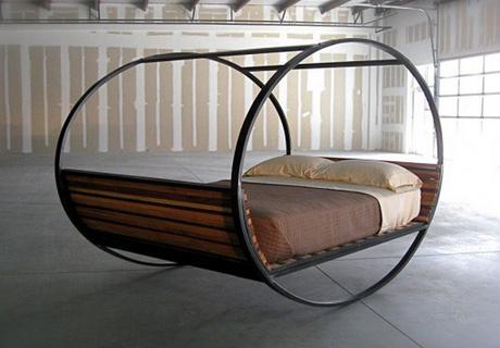 Unconvetional sleeping i letti pi strani al mondo - Letto a dondolo ...