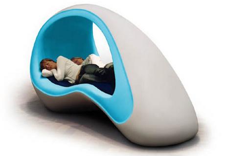 Letti stravaganti ergonomici di design