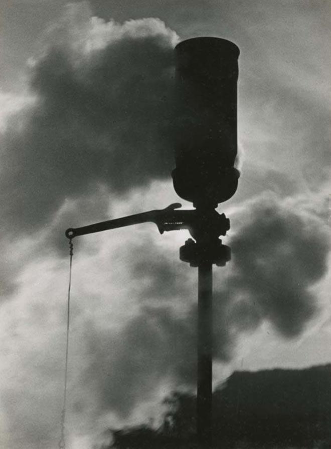 Sveglia fabbriche con marchingegno a vapore