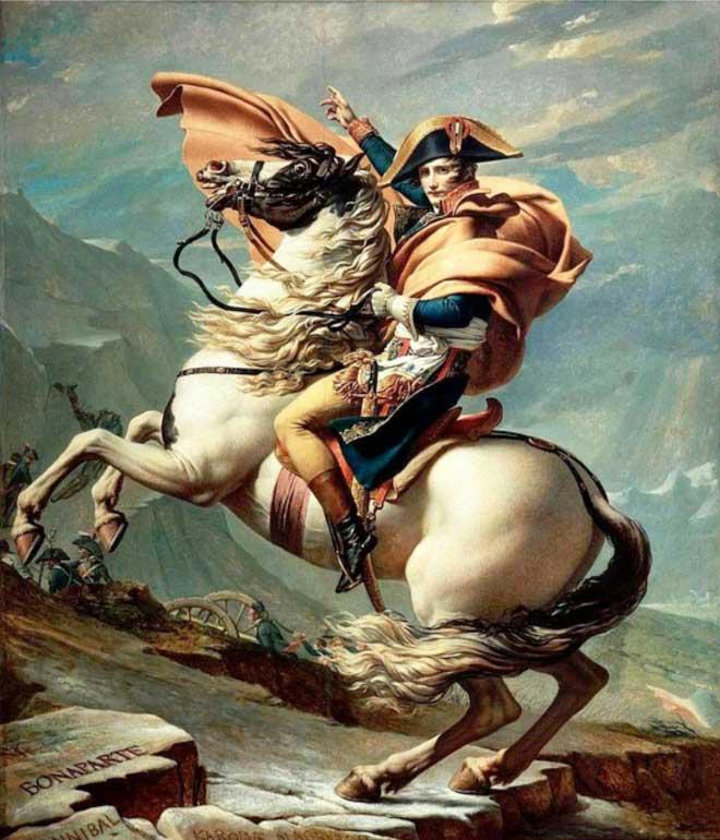 Napoleone dormiva 4 ore a notte