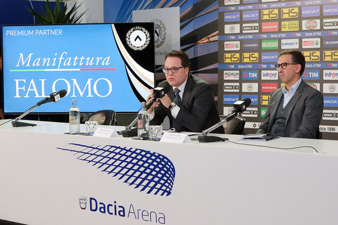 Scopri la speciale partnership nata tra Manifattura Falomo e Udinese Calcio!