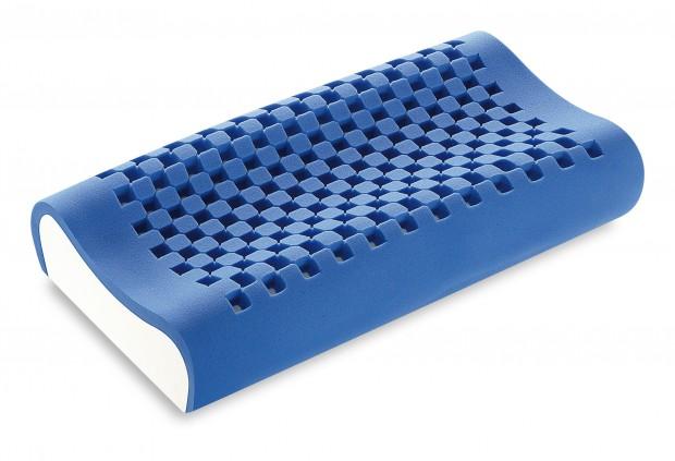 Guanciale Dream Memory Blue Maxi Cervicale massello