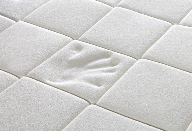Dettaglio imbottitura topper per materasso Praticò