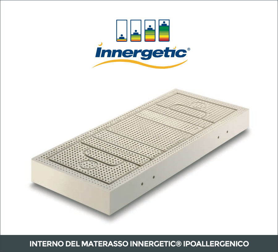 Interno del materasso in lattice Innergetic Ipoallergenico