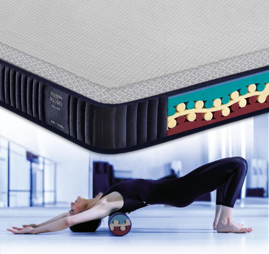 Materasso Body Trainer Manifattura Falomo