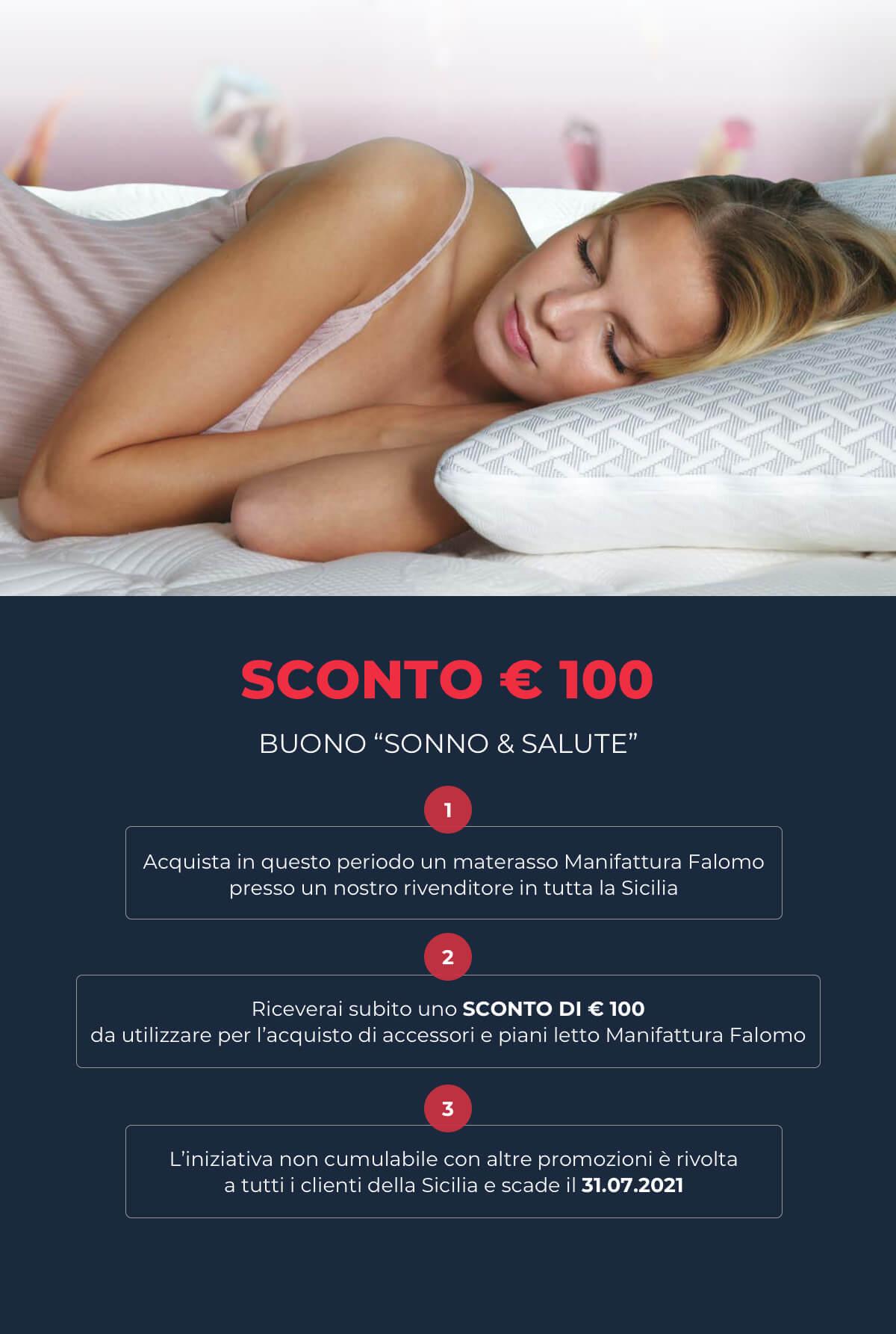 Promo Sonno & Salute € 100 Sicilia