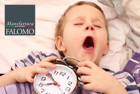 Materassi, bambini e sonno.