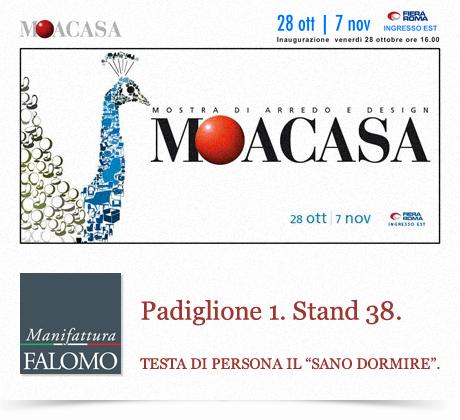 "Materassi Falomo in fiera a Roma: ""MOACASA 2011"""