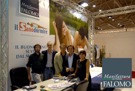 Moa Casa 2011 - Fiera di Roma: esposizione materassi Falomo