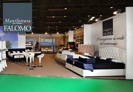 Stand Manifattura Falomo Roma Fiera Casaidea 2013