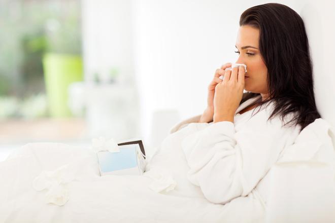 5 consigli per dormire bene anche con l'influenza