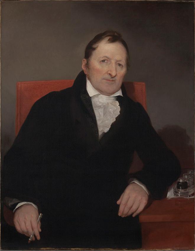 Eli Whitney, inventore della macchina per la filatura del cotone.