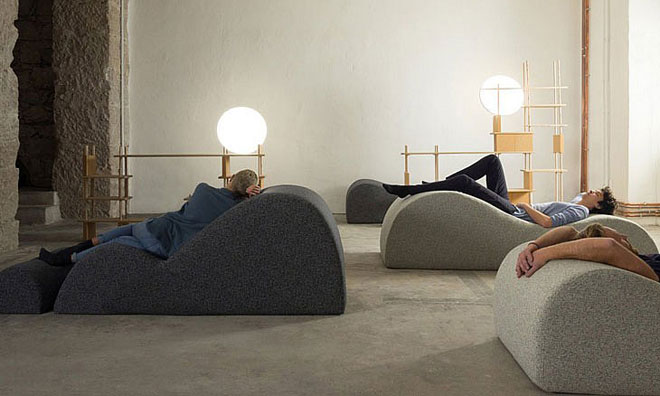 "A Dubai per un ""power-nap di design"""