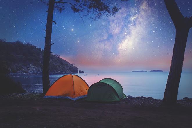 Programmi per l'estate? Prova il campeggio per ritrovare il sonno perfetto!